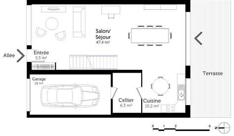 plan de maison à étage 4 chambres plan maison à étage avec 4 chambres ooreka