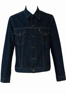 Levis Dark Blue Denim Jacket u2013 L/XL u2013 Reign Vintage