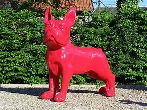 Statue Chien Design : statue bulldog fran ais xxl jardinchic ~ Teatrodelosmanantiales.com Idées de Décoration