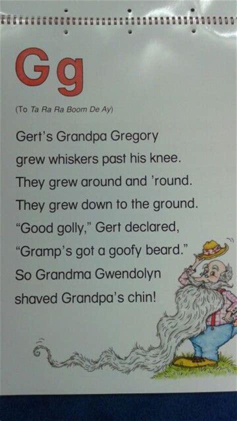 G Alliteration Poem  Abc Alliteration Poems Pinterest