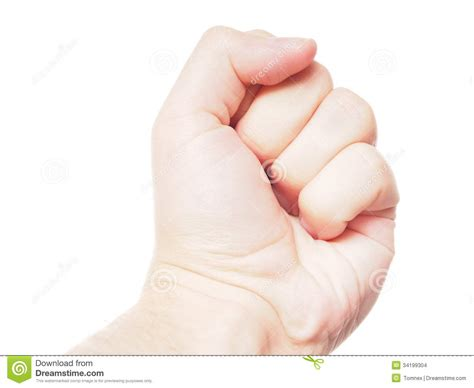 Clenched Fist Stock Images Image 34199304
