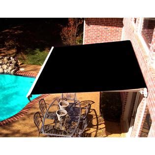 beauty mark maui lx motorized retractable awning black