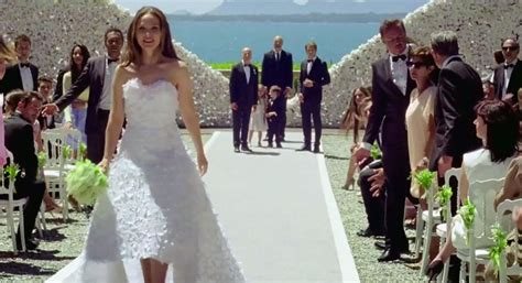 Natalie Portman Strips Out Of Her @dior Bridal Gown And Flees Her Wedding! #missdior