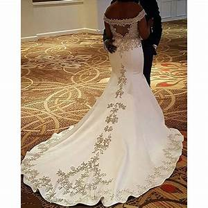 bride dresses 2017 satin white african wedding gowns With white african wedding dress