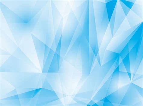 Abstract Geometrical Blue Background Vector Graphic Free