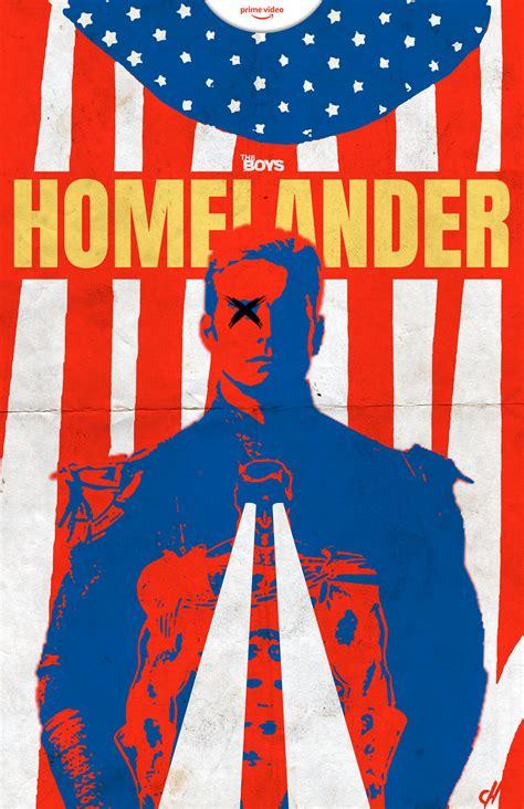 HOMELANDER poster by me : TheBoys