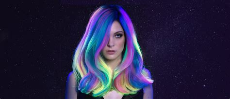 mystic galaxy hair ideas  rock lovehairstylescom