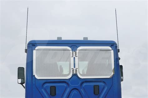 rear window guard cascadia daycab dieters