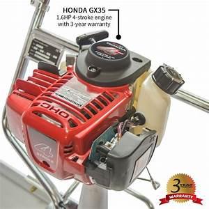 1 8hp Honda Gas Vibrating Concrete Power Screed Float Finishing Tool  U2013 Tomahawk Power