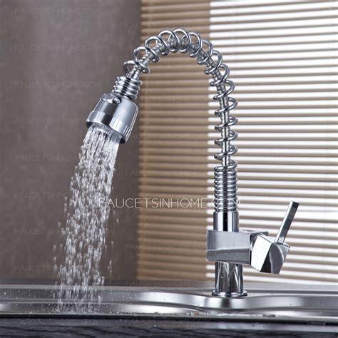 utility sink faucet  sprayer spring faucet