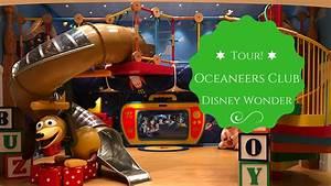 TOUR! Disney Wonder NEW Oceaneers Kid's Club 2017 - YouTube