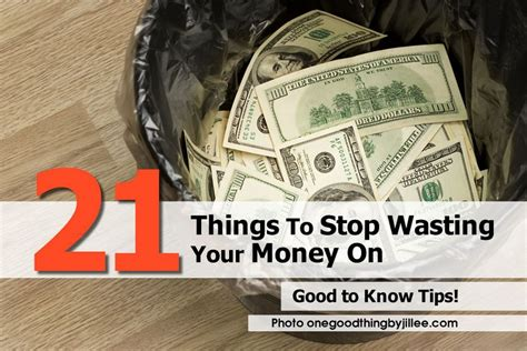 21 Things To Stop Wasting Your Money On