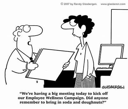 Funnies Cartoons Sparkpeople Cartoon Health Wellness Meeting