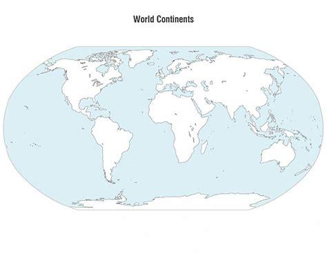 Carte Du Monde Gratuite Vectorielle by Continents Carte Du Monde Vectorielle T 233 L 233 Charger Des
