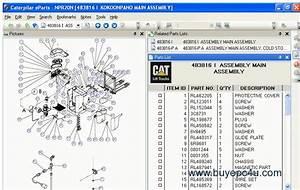Caterpillar Forklift Linkone Parts Catalog