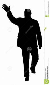 Waving Man Royalty Free Stock Images - Image: 1298499