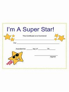 Template For A Certificate Certificates For Kids 2 Free Templates In Pdf Word