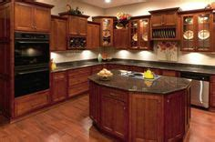 how to choose kitchen flooring i m really liking this look cherry cabinets uba 7209