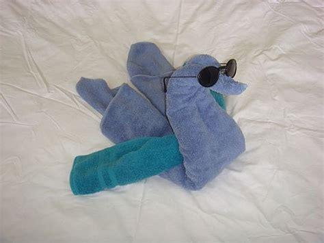 diy towel swan