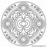 Coloring Mandala Pages Chakra Mandalas Geometric Adult Aztec Colouring Expert Adults Geometry Spiritual Fascia Books Level Getcolorings Printable Para Awesome sketch template