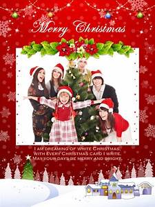 Christmas, Collage, Card, Add-on, Templates