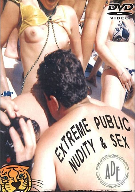 Extreme Public Nudity And Sex 2001 Gm Video Adult Dvd