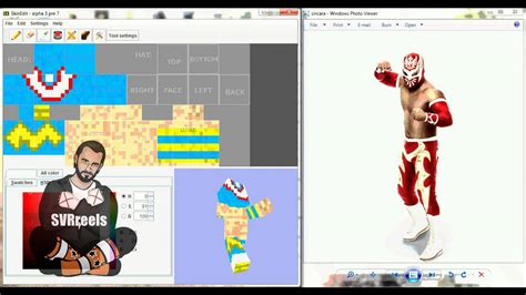 Wwe Sin Cara Minecraft Skin Speed Edit