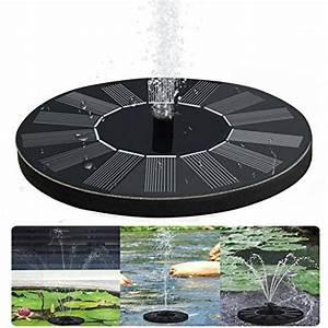Solar Für Garten : solar springbrunnen teichpumpe f r garten solarbatterie brunnen und pumpen mit monokristalline ~ Orissabook.com Haus und Dekorationen
