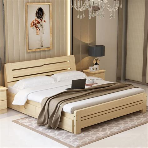 uptown solid pine wood bed classi designs