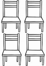 Chair Coloring Chair7 sketch template