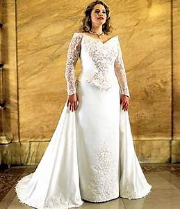 Victorian wedding dresses class from the past styles of for Plus size victorian wedding dresses
