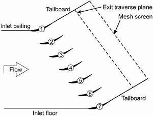 Schematic Of Linear Compressor Cascade