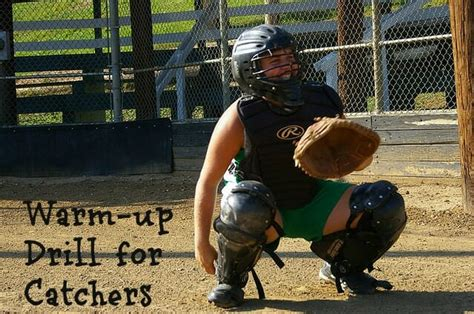 Softball Coach: Get Your Catcher Warmed Up and Ready for Practice