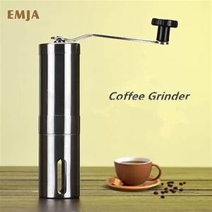 Manual Stainless Steel Coffee Grinder Portable Grinder