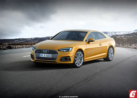 2017 Audi A5 Coupe Shows Off Its Teutonic