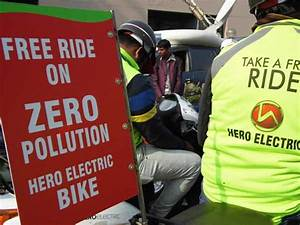Hero Electric Offers 100 E-Bikes For Free Rides In Delhi ...