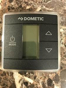 Dometic 3316410 012 Black Capacitive Touch Single Zone