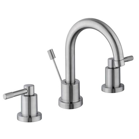 schon axel 8 in widespread 2 handle high arc bathroom