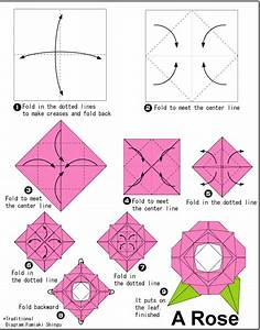 How to make an origami rose for kids/beginners. | Craft ...