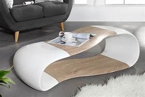 Couchtisch Weiß Eiche : design couchtisch gravity weiss eiche 120cm fiberglas dunord ~ Frokenaadalensverden.com Haus und Dekorationen