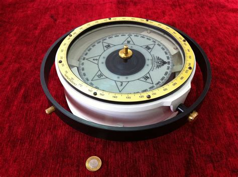 cassens plath type  reflector compass   west germany