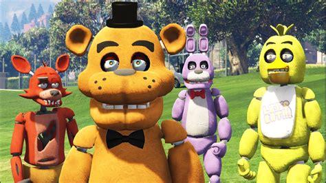 Fnaf Animatronics In Gta 5! (gta 5 Mods Fnaf Funny Moments