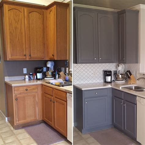 can you paint your kitchen cabinets updated oak kitchens painting tips 9371