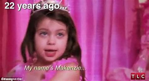 Toddlers And Tiaras Meme - makenzie toddlers and tiaras memes