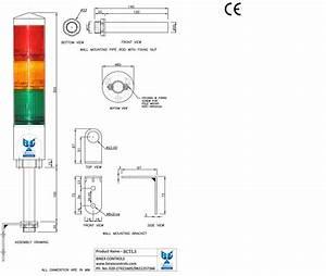 Allen Bradley 855t Stack Light Wiring Diagram