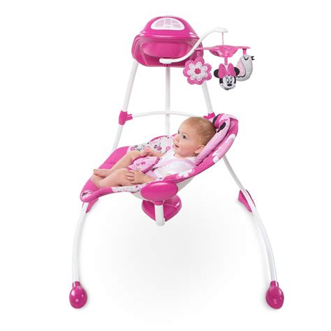 Minnie Mouse Baby Swing disney baby minnie mouse garden delights swing ebay