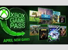 Xbox Game Pass April 2018 Additions