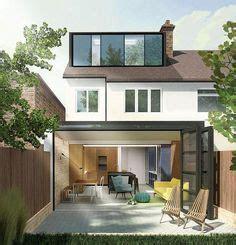 zinc clad loft  sliding aluminium framed windows great views   south london