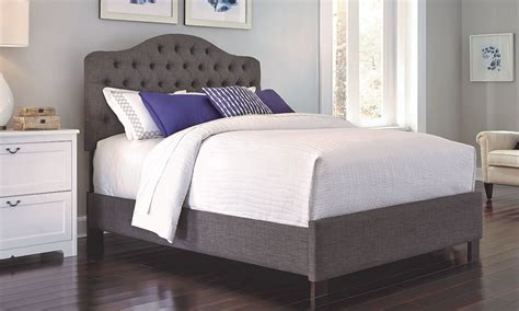 Spend this time at home to refresh your home decor style! Moselle French Grey Tufted Twin Bed | The Dump Luxe ...