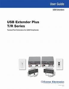 Usb Extender Plus T  R User Guide